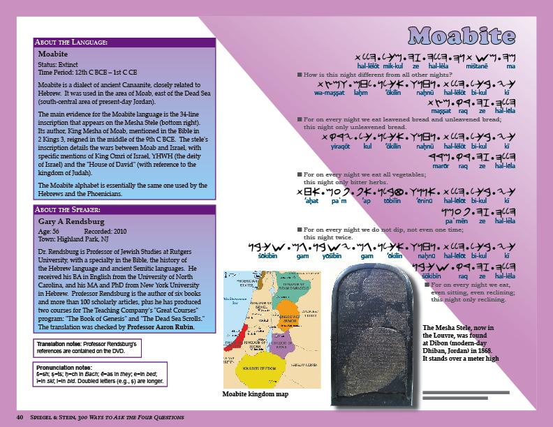 Publications of Gary A  Rendsburg Rutgers Jewish Studies